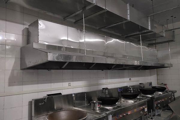 厨房排烟管道安装