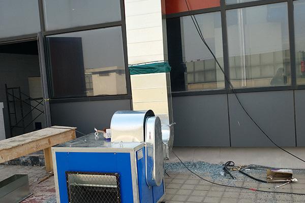 不锈钢厨房排烟管道
