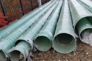 玻璃钢排污管道加工