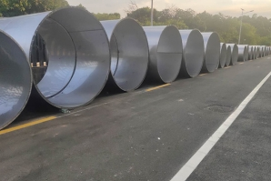 不锈钢环保通风管道